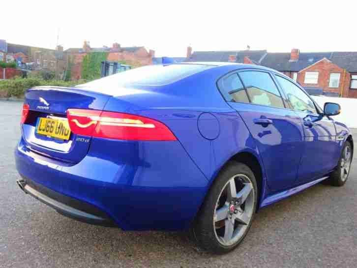 2016 66 REG JAGUAR XE R SPORT 2.0D TURBO DIESEL NEW SHAPE DAMAGED SALVAGE