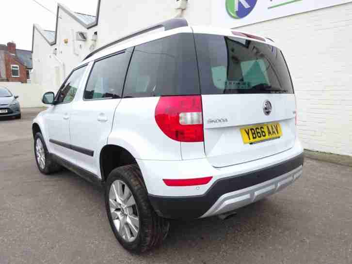 *2016 66 REG* SKODA YETI 1.2 TSI TURBO DSG AUTO NEW SHAPE CAT-D DAMAGED SALVAGE