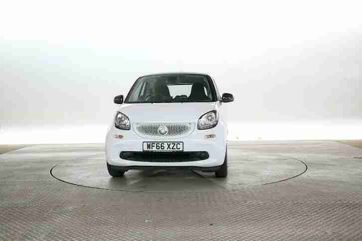 2016 (66 Reg) Smart Fortwo 1.0 Passion White COUPE PETROL MANUAL
