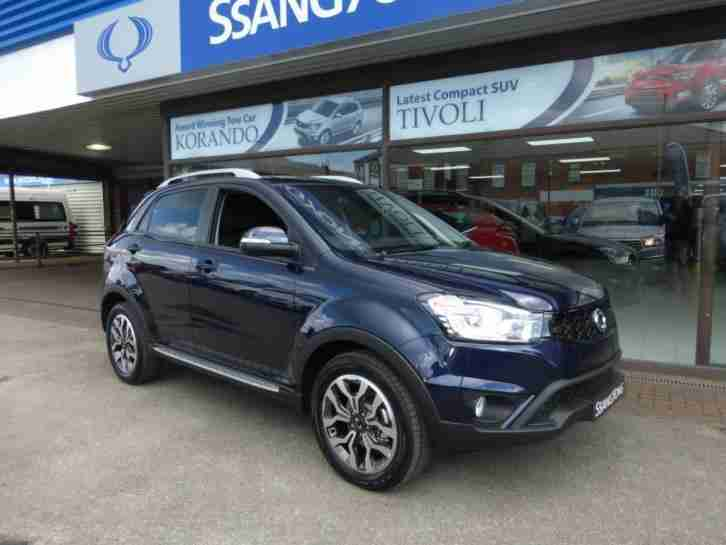 2016 66 KORANDO 2.2 LIMITED EDITION