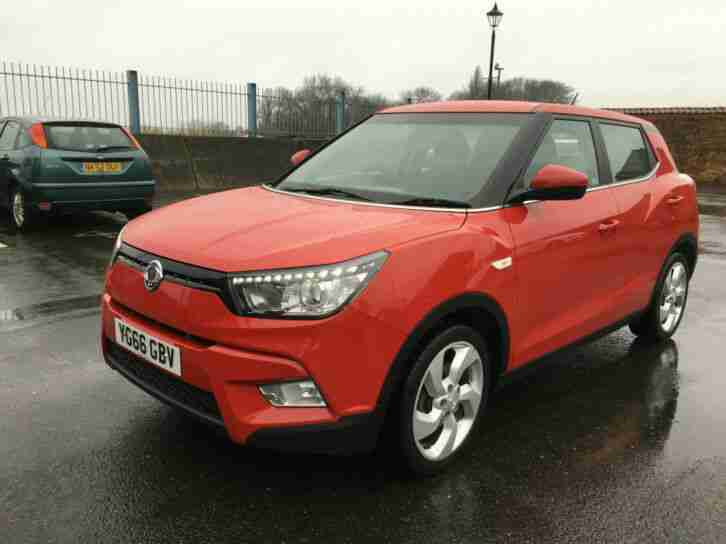 2016 (66) SSANGYONG TIVOLI 1.6 TD EX FSH RUNS DRIVES SUPERB LONG MOT BARGAIN!!