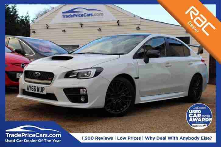 2016 66 SUBARU WRX 2.5 STI TYPE UK 4D 300 BHP