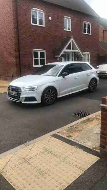 2016 A3 Sline DSG 5dr Black Edition