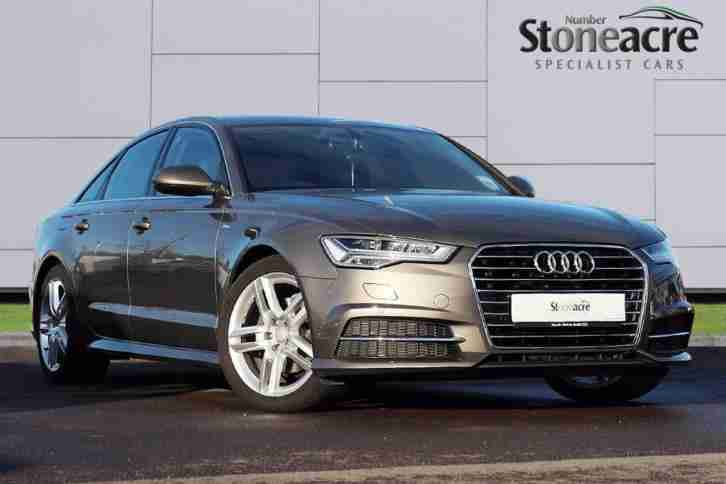 audi 2016 a6 saloon 2 0 tdi ultra s line saloon s tronic 4dr start. Black Bedroom Furniture Sets. Home Design Ideas