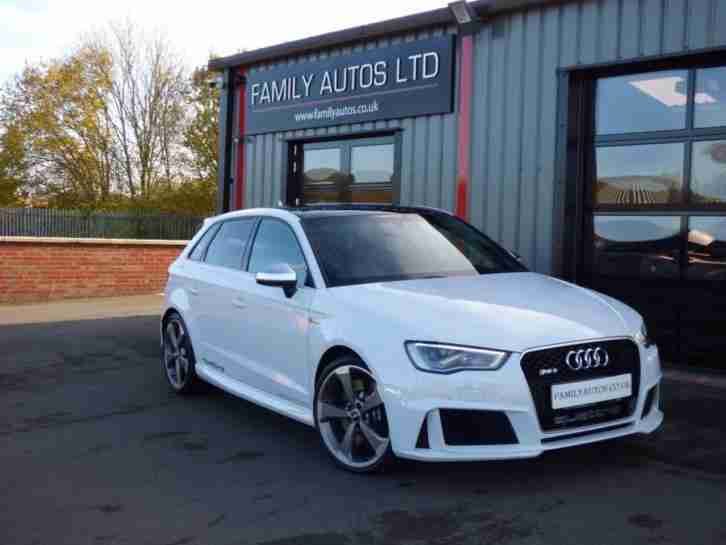 2016 RS3 2.5 TFSI RS 3 Quattro 5dr S