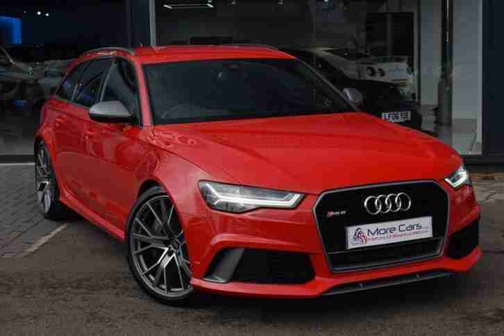 2016 RS6 Avant 4.0 Performance Avant