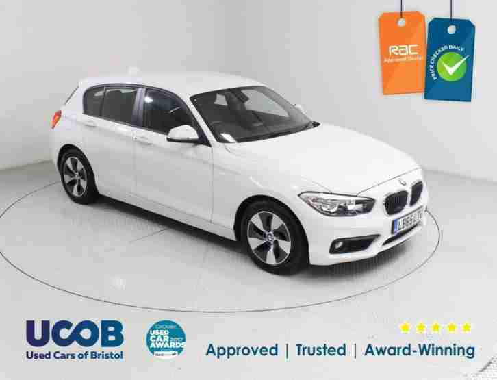 2016 BMW 1 SERIES 1.5 116D EFFICIENTDYNAMICS PLUS HATCHBACK DIESEL
