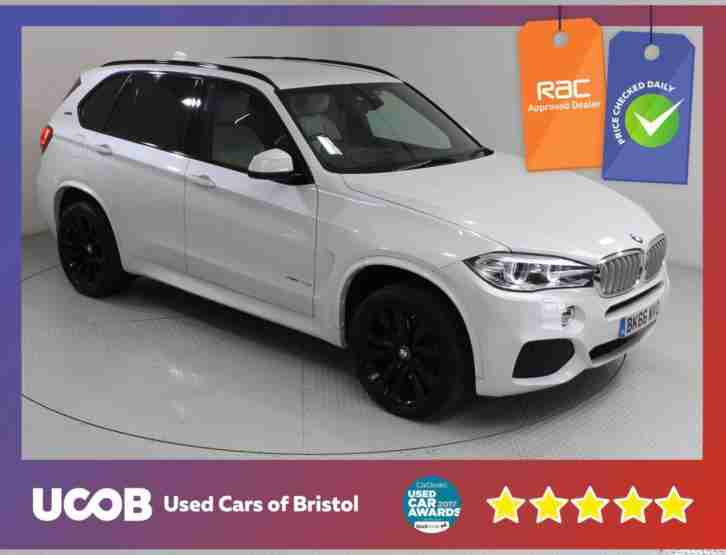 2016 X5 2.0 40E M SPORT XDRIVE 5DR ESTATE