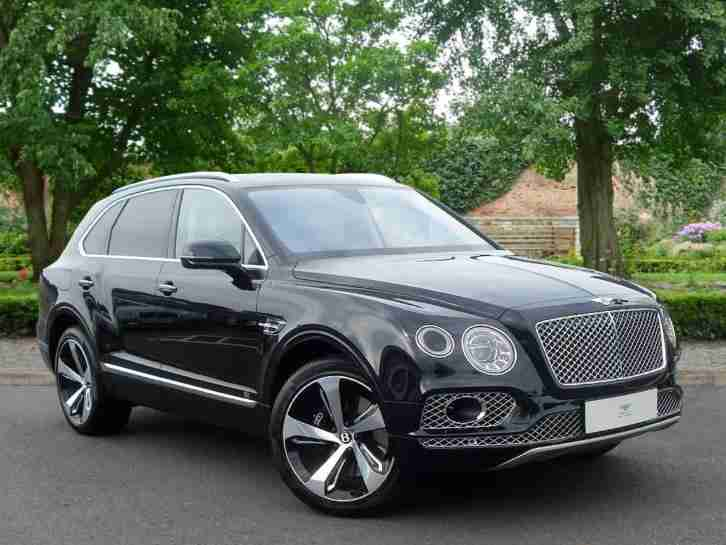 bentley 2016 bentayga w12 first edition petrol black automatic car for sale. Black Bedroom Furniture Sets. Home Design Ideas