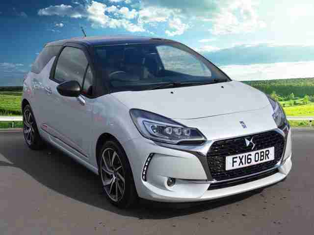 2016 DS Ds 3 BLUEHDI PRESTIGE S/S 1.6l Diesel Engine. 120PS. Ex Demonstrator. Na
