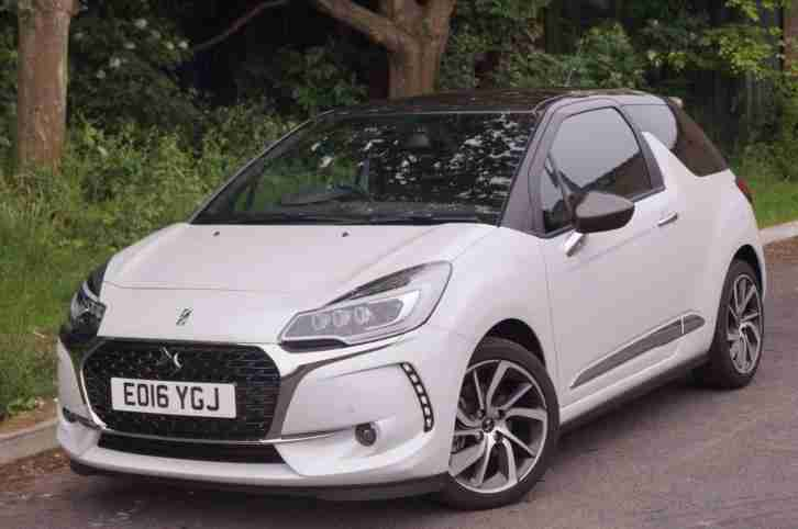 2016 DS Ds 3 THP PRESTIGE S/S Petrol white Manual