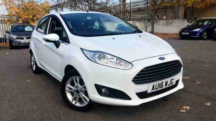 2016 Fiesta 1.6 Zetec Powershift