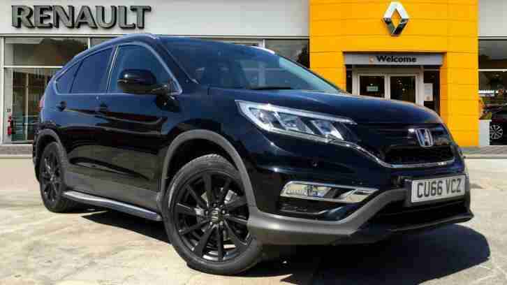 2016 CR V 1.6 i DTEC Black Edition 5dr