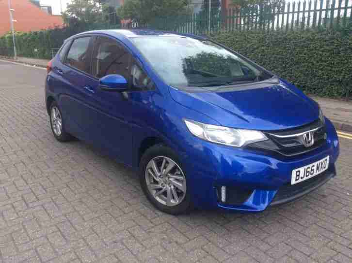 2016 HONDA JAZZ SE I VTEC CVT 5 DOOR BLUE LOW MILEAGE DAMAGED REPAIRED CAT D