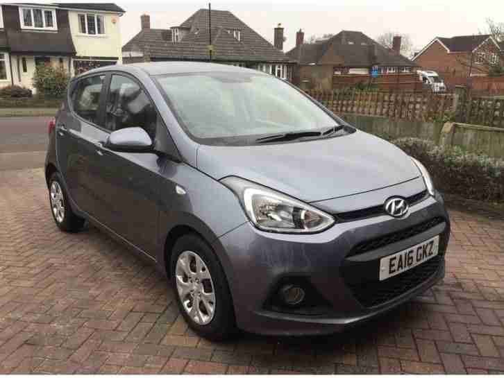 2016 I10 SE 1.2 87PS GREY HPI CLEAR
