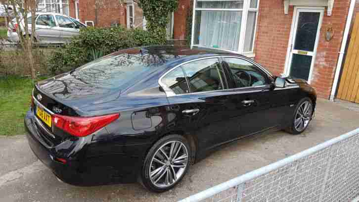 2016 INFINITI Q50 2.0T SPORT AUTO 208Hp / DAMAGED REPAIRABLE SALVAGE