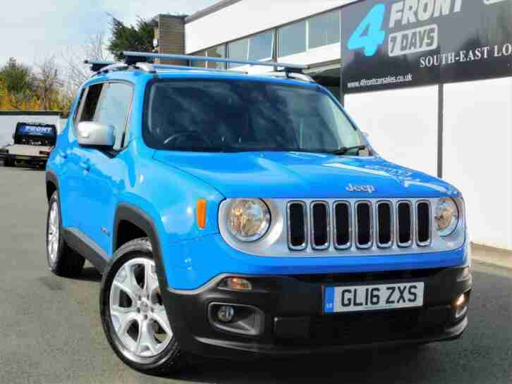 2016 JEEP RENEGADE LIMITED 5 DOOR AUTOMATIC ESTATE PETROL