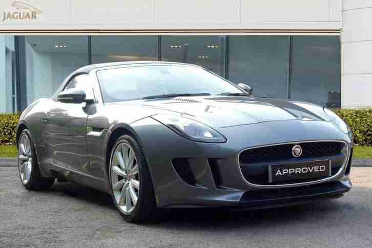 2016 Jaguar F-TYPE V6 Petrol grey Automatic