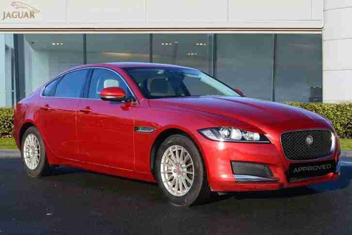2016 XF PRESTIGE Diesel red Automatic