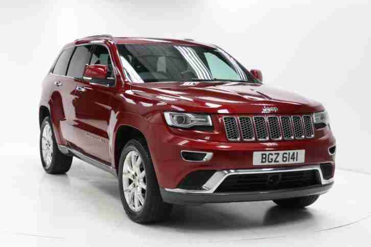 jeep 2016 grand cherokee 3 0 crd summit 5dr auto diesel. Black Bedroom Furniture Sets. Home Design Ideas