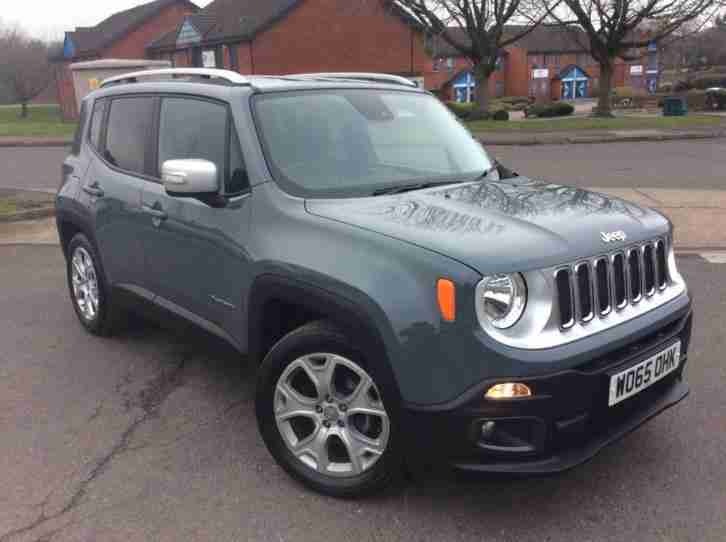 2016 Jeep Renegade 1.6 MultiJet II Dawn of Justice Station Wagon 5dr start stop