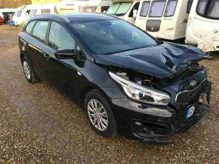 2016 KIA CEED 1 CRDI SALVAGE DAMAGED REPAIR