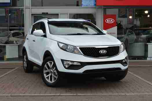 kia 2016 sportage 1 7 crdi isg axis edition 5 door diesel estate car for sale. Black Bedroom Furniture Sets. Home Design Ideas