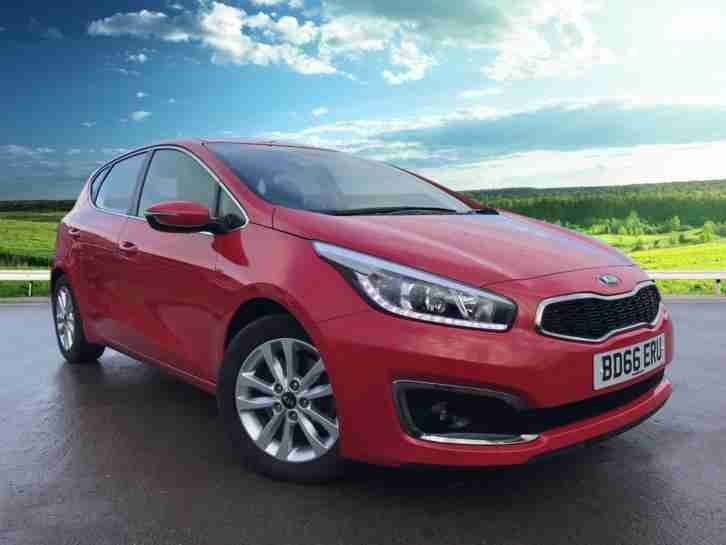 kia 2016 ceed crdi 2 isg diesel red manual car for sale. Black Bedroom Furniture Sets. Home Design Ideas