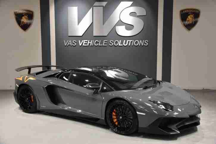 2016 Lamborghini AVENTADOR LP750 4 SV Roadster 1 of 500 Automatic Convertible