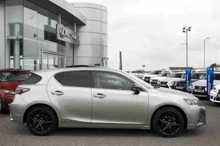 2016 Lexus CT 200H SPORT PETROL/ELECTRIC grey CVT
