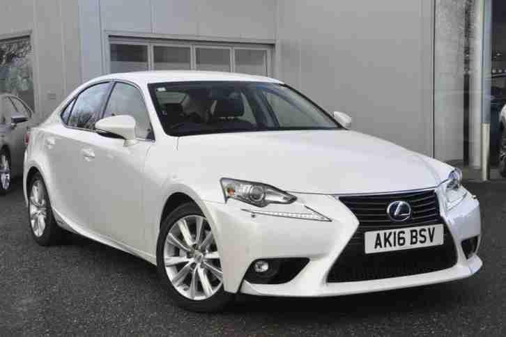 Lexus 2016 Is 2 5 Advance Petrol Electric White Cvt Car