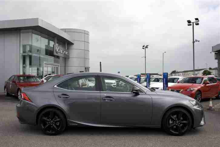 2016 Lexus IS 300H SPORT PETROL/ELECTRIC grey CVT