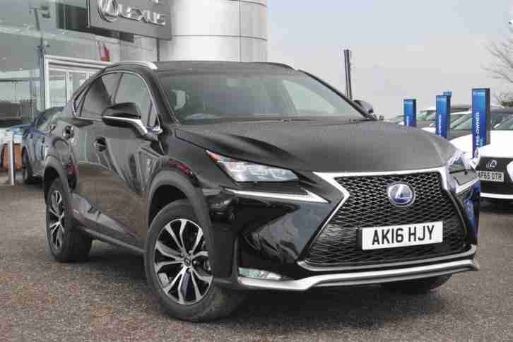 Lexus 2016 Nx 2 5 F Sport Petrol Electric Black Cvt Car
