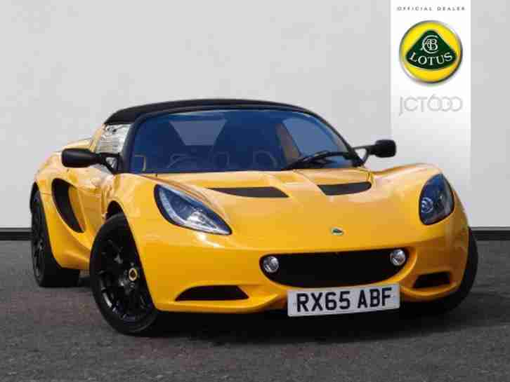 lotus 2016 elise s manual convertible car for sale. Black Bedroom Furniture Sets. Home Design Ideas