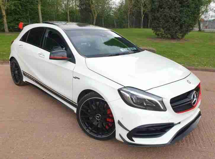 2016 MERCEDES BENZ A45 AMG 4MATIC AUTO PREMIUM PACK 375BHP FACELIFT PX SWAP