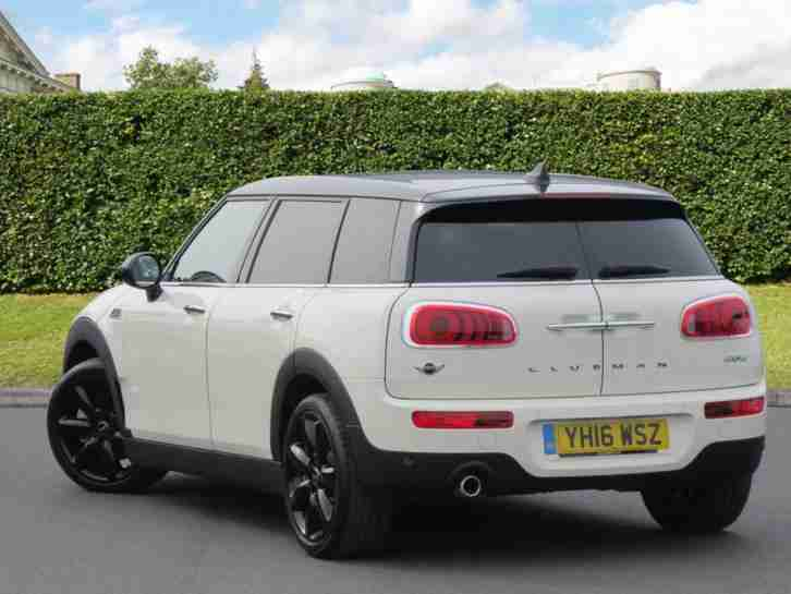 mini 2016 clubman 1 5 cooper 6dr manual estate car for sale. Black Bedroom Furniture Sets. Home Design Ideas