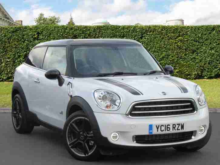 Mini 2016 Paceman Cooper D All4 Manual Coupe Car For Sale