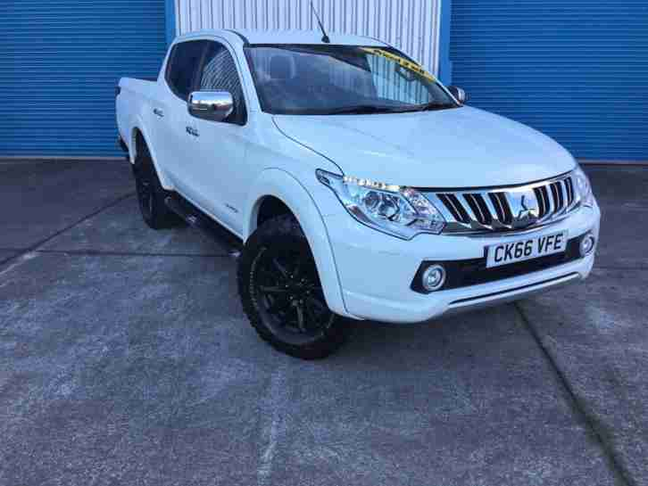 2016 MITSUBISHI L200 DI-D 4X4 WARRIOR DCB PICK UP DIESEL