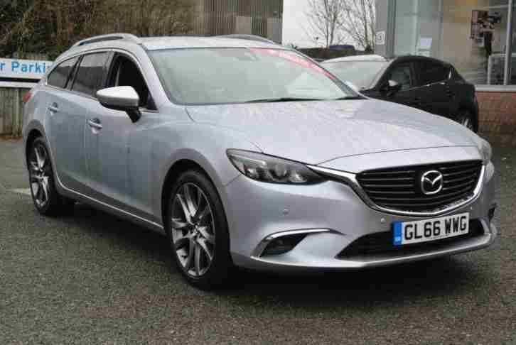 2016 mazda 6 tourer 175 sport nav 5dr manual diesel estate. Black Bedroom Furniture Sets. Home Design Ideas