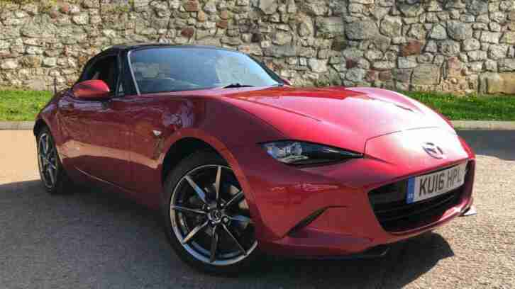 2016 Mazda MX 5 2.0 Sport Nav 2dr Manual Petrol Convertible