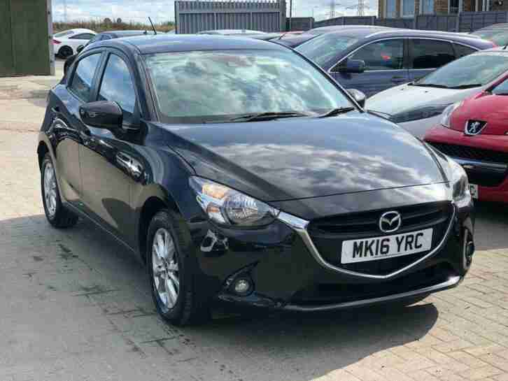 Mazda 2. Mazda car from United Kingdom