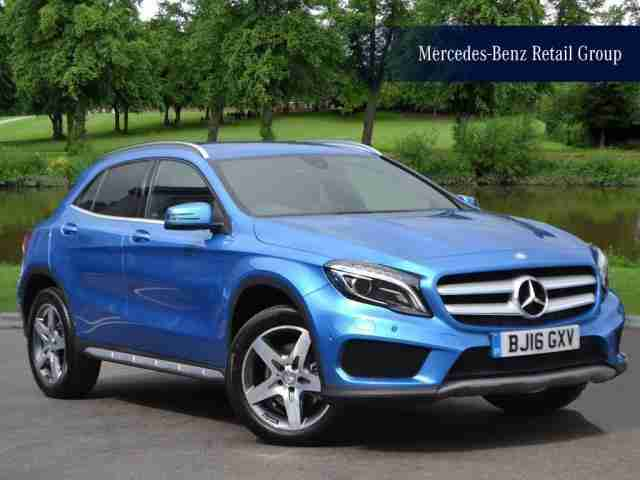 mercedes benz 2016 gla class gla 220 d 4matic amg line diesel blue. Black Bedroom Furniture Sets. Home Design Ideas