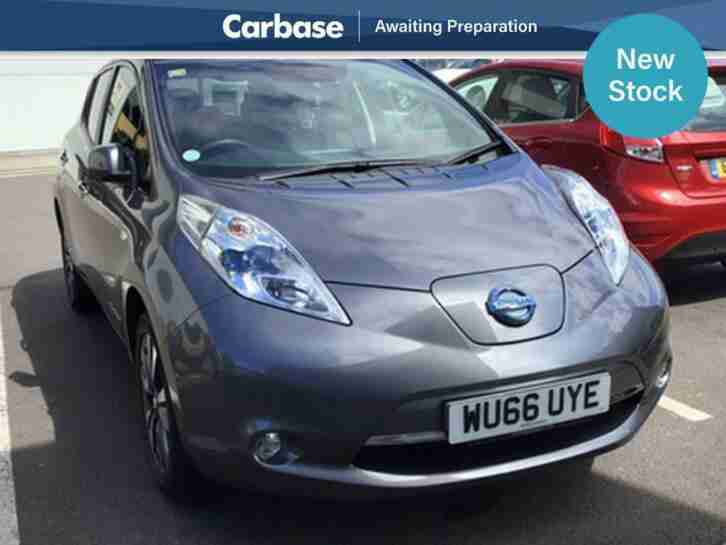 Nissan LEAF. Nissan car from United Kingdom