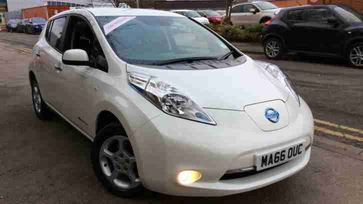 2016 Nissan Leaf Acenta 30kW Automatic Electric Hatchback