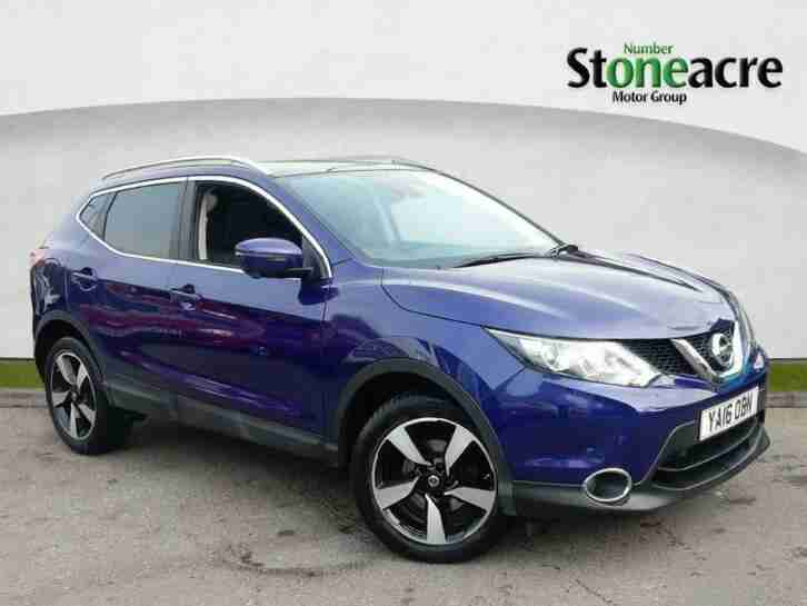 Nissan Qashqai. Nissan car from United Kingdom
