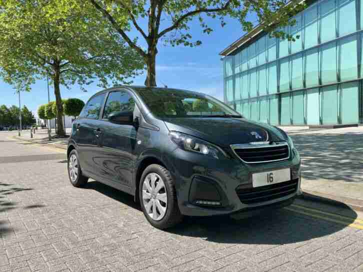 2016 Peugeot 108 1.0 Active 5 door 2 tronic hatchback