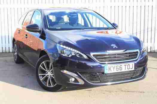 Peugeot 308. Peugeot car from United Kingdom