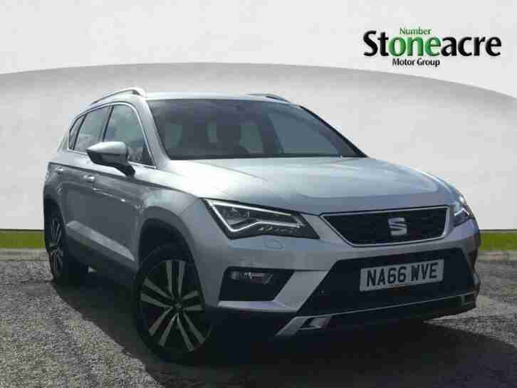 Seat Ateca. Seat car from United Kingdom