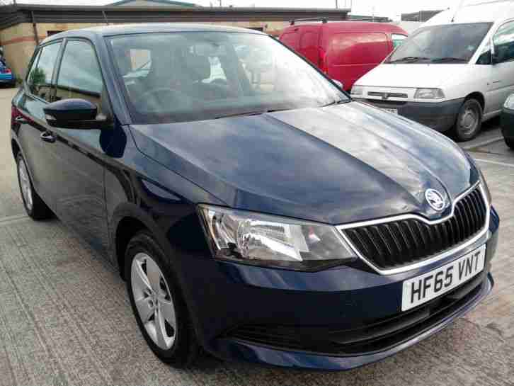 Skoda FABIA. Skoda car from United Kingdom