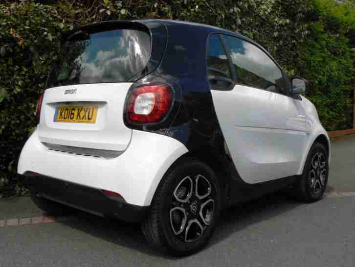 2016 SMART FORTWO PRIME PREMIUM PLUS+ TURBO EDITION AUTO ***TOP OF THE RANGE***